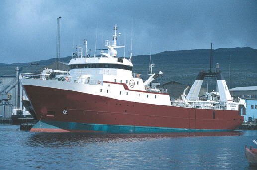 Stern freezer trawler for sale