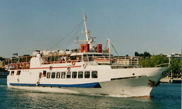 350 pax day passenger vessel for sale in the Med