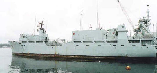 With SUBMARINE Former Fleet Diving Support Ship includes manned